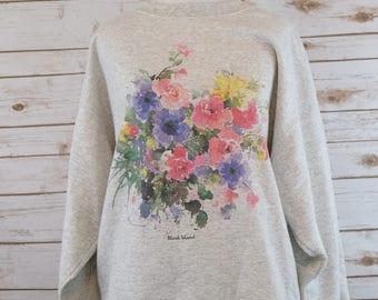 Clearance Vintage Block Island Sweatshirt