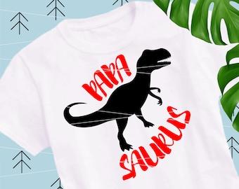 Papasaurus SVG Dinosaur svg Quote Svg files for Cricut Silhouette svg dxf png eps lfvs