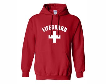 Life Guard SweatShirts Lifeguard Red Unisex life guard