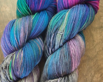 Stardust vol.2 BFL - hand dyed yarn