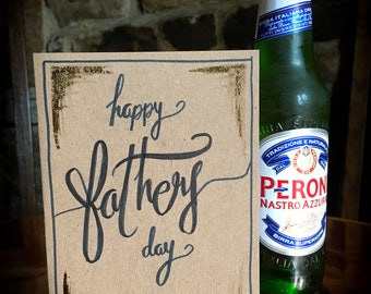 Handmande Father's Day card