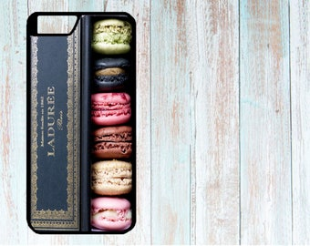 iPhone Case, iPhone Cover, Cover for iPhone, Custom Case for iPhone 4/4S/5/5S/5C/6/6S/6+/6S+/7/7S/7+/7S+ Laduree Macarons boxed