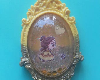 Disney belle-the beauty and the beast resin cammeo original violetheartshop