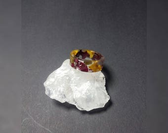 Resin ring with real flowers, resin ring with real flowers,