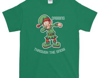 Dabbing Elf T Shirt, Dabbing Elf, Dabbing Christmas, Funny Elf Shirt, Dabbing Elf Shirt, Dabbing Elf Tee, Dabbing Elf Tee Shirt, Dabbing Elf