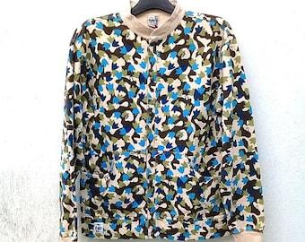 Full,Snap CHUMS CAMO Foot Sweatshirt,JAPANESE Branding