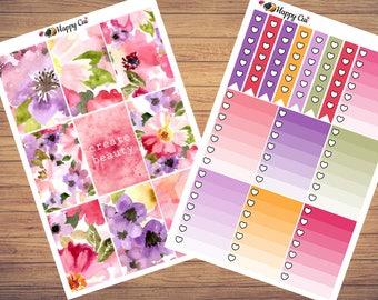 Hello Poppy // Planner Sticker Kit // Happy Planner // More than 250 stickers!!
