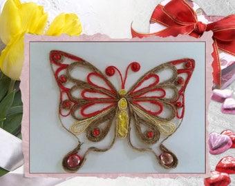 """Butterfly"" wall decor"