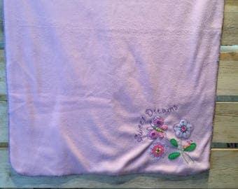 Sweet dreams baby blanket, baby blanket, newborn blanket, blanket, newborn gift, baby gift, newborn,  baby