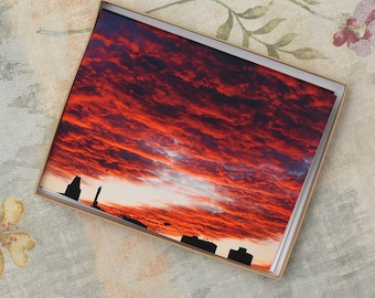 Notecards-Blood Clouds