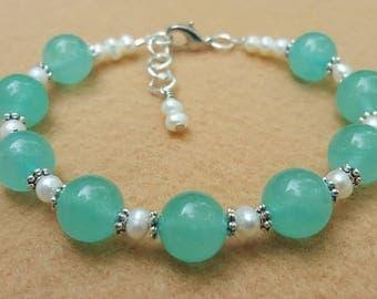 Quartzite and Pearls