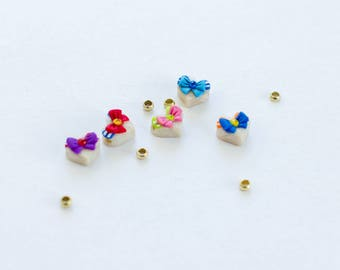 SECONDS SALE 50% OFF) Sailor Moon Heart Beads
