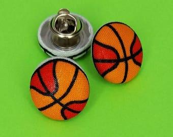 Brendan's Basketball Push-Pin/ Earrings/Ring