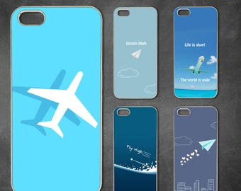 Airplane iphone 7 case, iphone 7 plus case, iphone 6/6s , iphone 8 case, iphone 6 plus case, iphone x, 5/5s case, 5c case, 4/4s
