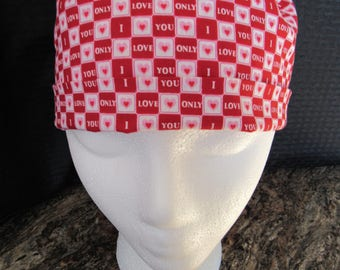 Womens small straight scrub hat