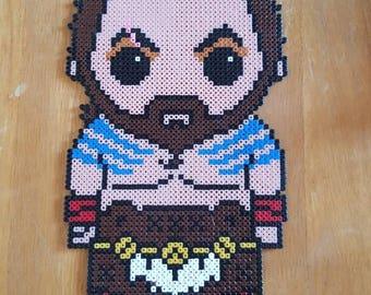 Khal Drogo Game Of Thrones Pixel Bead Art