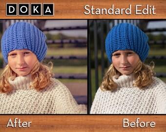 Standard Custom Photo Editing - Photo Manipulation - Photo Editing - Photo Retouching - Photoshop - Photo filter effect