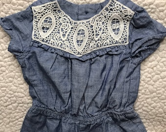 Denim Dress for Pups (Size 3P)