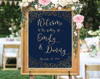Welcome wedding sign, Wedding welcome sign, Wedding welcome sign poster, Welcome sign wedding, Printable wedding welcome sign, Wedding sign