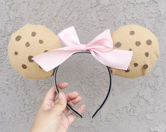 Custom Cookie Mickey Ears - Made To Order