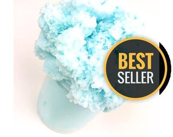 Blue Cotton Candy Cloud Slime (Scented)