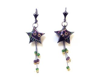 """"""""""" Shooting star earrings"""