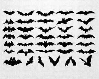 Sheet Of 36 Bats, Halloween Decor, Halloween Decals, Bats Decals, Bats Stickers, Halloween Bats Decorations, Bat Decal, Halloween Decor, bat