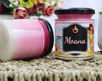 Moana Inspired - Hand-Poured Soy Wax Candle