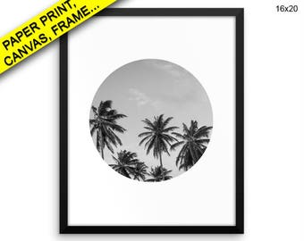 Palm Tree Printed Poster Palm Tree Framed Palm Tree Photography Art Palm Tree Photography Print Palm Tree Canvas Palm Tree california Decor