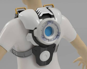 Tracer Rear Chronal Accelerator Overwatch - (3D Files) STL Digital Download