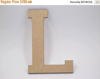 20% OFF 5cm MDF Wood Wooden Letters 3mm Thick VAR