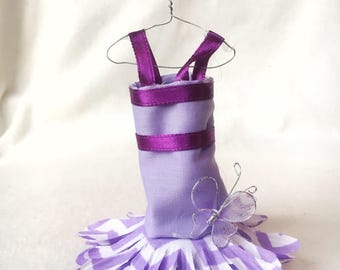 Fairy Dress; purple , lavendar, and white