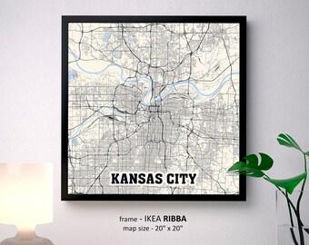 Kansas City Wall Art kansas city missouri | etsy
