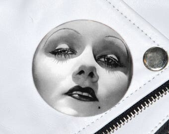 20's Icon Jean Harlow Badge
