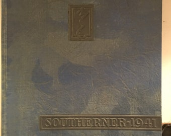 1941 Southerner  Mississippi Southern College Yearbook  Now University of Southern Mississippi