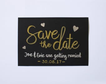 Save the Date - Custom Hand Written