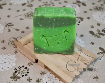 Body SOAP, fragrance of cucumber, enriched with Shea butter and olive oil
