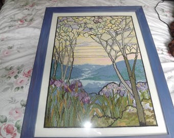 artnouveau  crosstitch picture