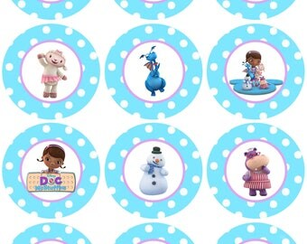Doc McStuffins Icing Sheet Edible Image Cupcake, Cookie Topper