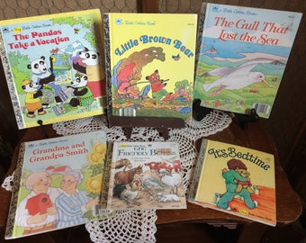 Little Golden Books Collection (both pictures)