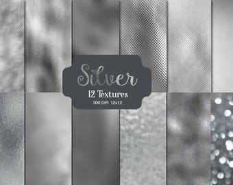 SILVER DIGITAL PAPER,  silver, digital paper, silver texture, silver backgrounds, silver foil shiny silver texture