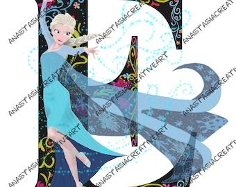 Custom Disney Alphabet Drawing