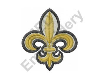 Fleur De Lis - Machine Embroidery Design