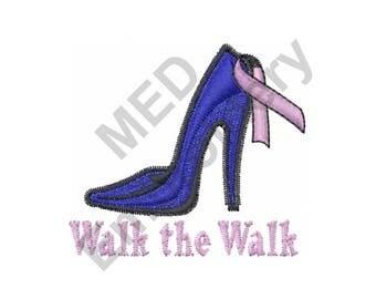 High Heel - Machine Embroidery Design, Shoe - Machine Embroidery Design