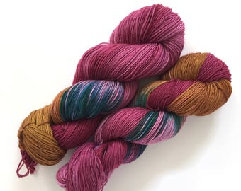 Jazz Party - Ready to ship hand-dyed yarn