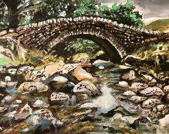 Landscape painting- River's View