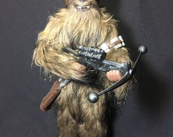"13"" Custom made Chewbacca action figure"
