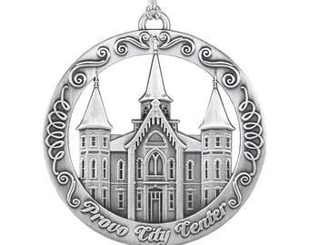 Provo City Center Utah LDS Temple Ornament