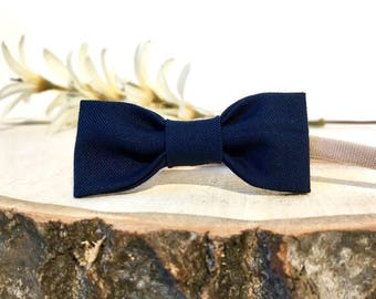 Navy,Nude Baby Headband,Nylon Headband,Thin Baby Headband,Hair Bow,Hair Clip,Baby Bow,Skinny Nylon Bow, Little Baby Headband