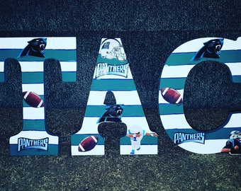 North Carolina Panthers Letters